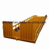 Rampe de conteneur mobile de 12 tonnes Dcqy12-0.8 (personnalisable)