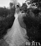 Платье Венчания C2166 Тюль Русалка Мантии Длиннего Шнурка Втулок Свадебный