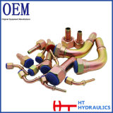 Instalación de tuberías hidráulica masculina femenina de la guarnición de manguito de la guarnición de tubo de Eaton