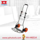 Camion de palette en plastique bon marché de main de chariot à jardin de roue de camion de main (YH-HK014)