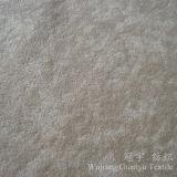 Tissu tacheté de polyester de velours court de pile pour la décoration