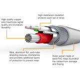 Kabel van de Bliksem van de hoge snelheid de Duurzamere voor iPhone