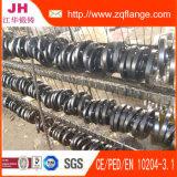 DIN86030 Pn16 S235jrg2 schwarzer Farbanstrich-Beleg auf Flansch