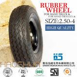 Gomma di gomma 2.50-4 della rotella della riga della barra pneumatica della carriola