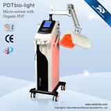 7 machine de rajeunissement de peau des couleurs PDT DEL