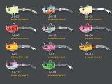 Palan de pêche (double attrait bien choisi de pêche de RH-DC)