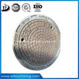 OEM에 의하여 던져지는 연성이 있는 회색 철 맨홀 뚜껑 또는 하수구 뚜껑 또는 배수구 거슬리는 소리 (En124/D400)