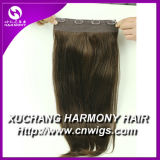 На складе Volumizer 8 дюйма Quad Weft Закрепите удлинитель волос/8 дюйма закрепите в человеческого волоса расширений с более цветов на складе