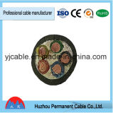 Cordon et fil blindés de câble de la SWA isolés par PVC Sta Awa Dbt