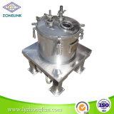 De volledige Vlakke Filter van de Lossing van de Norm van het Voedsel van het Roestvrij staal Hoogste centrifugeert voor Gebruikte Olie