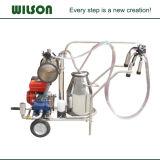 移動可能なヒツジ牛搾り出す機械