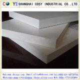 Espuma de PVC resistente al agua la hoja 4'x8' de plástico blanco