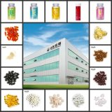 escritura de la etiqueta privada de la soja 1000mg del OEM orgánico de la lecitina Softgel y de la vitamina E