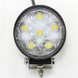 Indicatore luminoso impermeabile del lavoro del CREE LED di 6000k 10-30V 18W