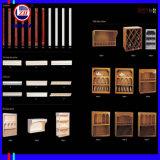 Классический стиль двери из ПВХ для кухни шкаф (ZH042)