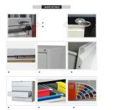 Venda a quente 2 gaveta de armazenamento lateral do gabinete de arquivo com abraçadeira apertada