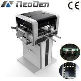 Selección de SMT y máquina visuales Neoden4 del lugar con 4 pistas de la colocación