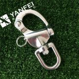 旋回装置の目が付いているステンレス鋼のスナップの手錠