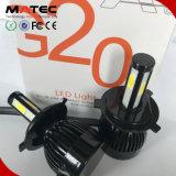 Kit de conversion de voiture électrique G20 LED haute puissance lampe au xénon Kit 80W 8000lm LED puce COB Auto partie 9007 LED Lampes de projecteur G20