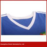 100%년 폴리에스테 싸게 연약하고 얇은 t-셔츠 (R174)