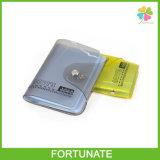 Livro de titulares de cartão de crédito de plástico de PVC barato