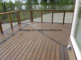 Decking Eco-Friendly de WPC (composto plástico de madeira)
