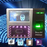 Het Scherm van de Aanraking van 4.3 Duim Gezichts & Apparaat van de Opkomst van de Tijd van de Vingerafdruk het Biometrische