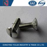 Parafuso principal escareado entalhado DIN963 da alta qualidade de A2 A4 35#45# para a maquinaria e o Instructure