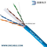 CAT6 UTP 23AWG Chaqueta de PVC Bare Copper LAN Cable