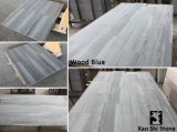 Tile、Slab、CountertopのためのアテネWood Grain White Grey Marble