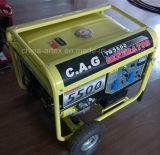 4.5kw/4.5kVA/4500watt 가구 작은 가솔린 또는 휘발유 전기 발전기