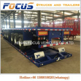Flatbed Fabrikant van de Aanhangwagen van de Container in China, 40t de Chassis van de Container van de Nuttige lading