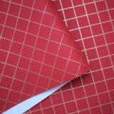 Spunlaceの袋のためのNonwoven裏付けPUの革、のどの革