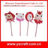 De Aap van de Liefde van de Valentijnskaart van de Decoratie van de valentijnskaart (zy13l900-1-2-3-4), draagt, Leeuw, Kikker