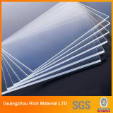 Прозрачная ясно литые PMMA лист акрилового пластика Plexiglass лист