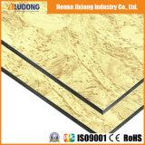 Comitato composito di alluminio del granito e di legno di serie di Buiilding dei materiali
