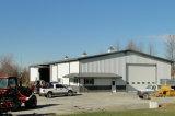 Edificio de estructura de acero prefabricadas con paneles de hormigón ligero