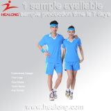 Не Healong MOQ Sportswear Dye-Sublimation печать бадминтон Джерси