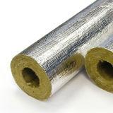 싼 가격 알루미늄 호일을%s 가진 무기물 바위 모직 관