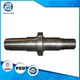 Stahlmaterial-geschmiedete und maschinell bearbeitenwelle, CNC, der von China maschinell bearbeitet