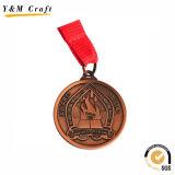 Bester verkaufengoldmetallrunder Medaillen-Zoll Ym1181