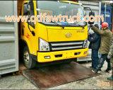 Autocarro con cassone ribaltabile chiaro di Faw dell'autocarro a cassone da 5 tonnellate