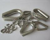 Guarniciones marinas inoxidables arriba Polished del aparejo del hardware de la pieza de acero fundido