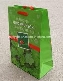 L'emballage personnalisé de cadeau de papier d'imprimerie de modèle met en sac les sacs en papier promotionnels
