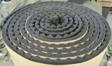 Tubo di gomma dell'isolamento del fronte adesivo della superficie del di alluminio del pannello isolante della schiuma plastica