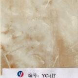 Película de cópia líquida de pedra de mármore branca da largura de Yingcai 1m