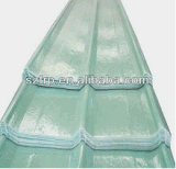Il tetto ondulato della vetroresina dello strato della plastica di rinforzo vetroresina dello strato del tetto della vetroresina riveste lo strato di pannelli trasparente della vetroresina dei comitati trasparenti della vetroresina
