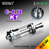 De exclusieve de g-Klap van de Leverancier K1 Verstuiver van de Pen van Vape met de Tank van het Glas
