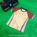 Une bande marron Healong plein de sublimation maillots de rugby