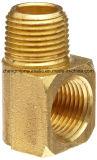 """Ajustage de précision de pipe en laiton en métal, té de Barstock, 1/4 """" X 1/4 """" pipe de femelle de TNP de X 1/4 """""""